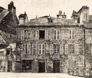 1-Casa donde nació René T. H. Laennec en 1781, Quimper, Francia