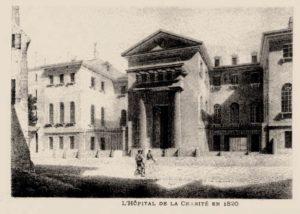 16 - Hospital de la Charité, París