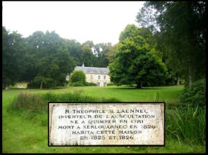 46 - Casa donde falleció Laennec, Kerlouarnec, PLoaré, Bretaña